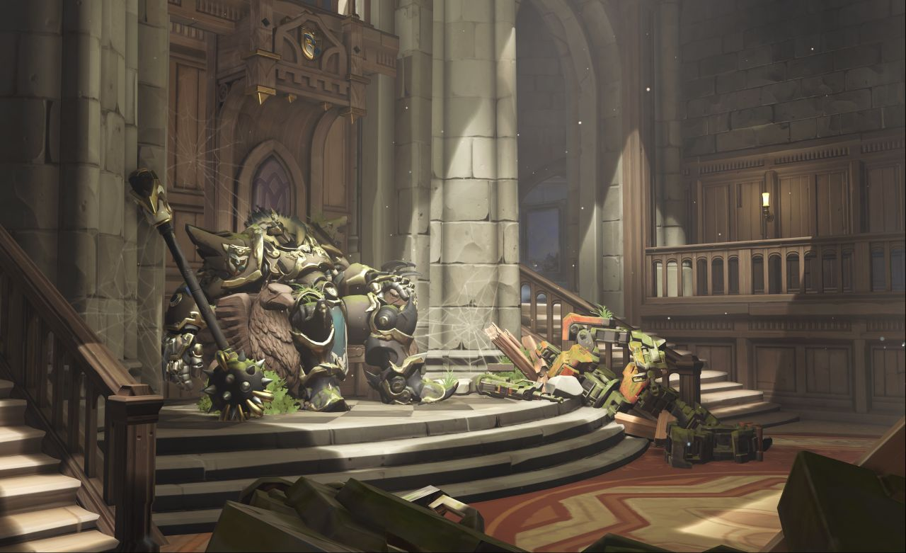 Overwatchs New Map Eichenwalde Tasks You With Escorting A