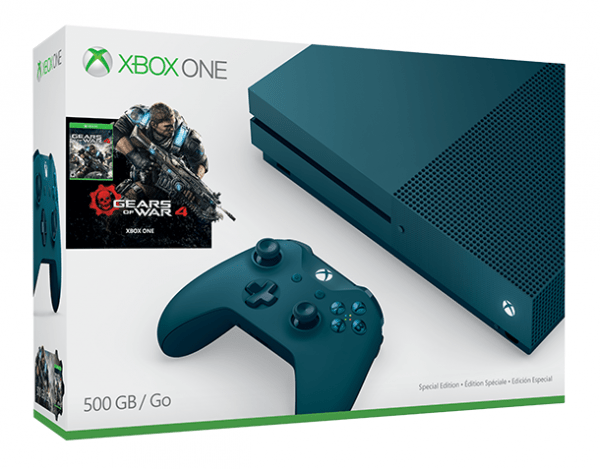 Gears Of War 4 Gets Another Two Xbox One S Bundles VG247