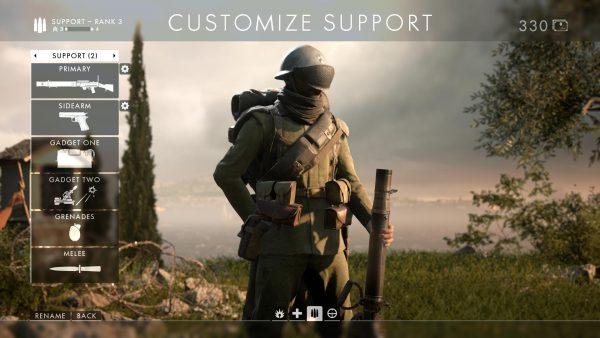 Battlefield 1 Best Class Loadouts For Assault Medic Support Scout VG247