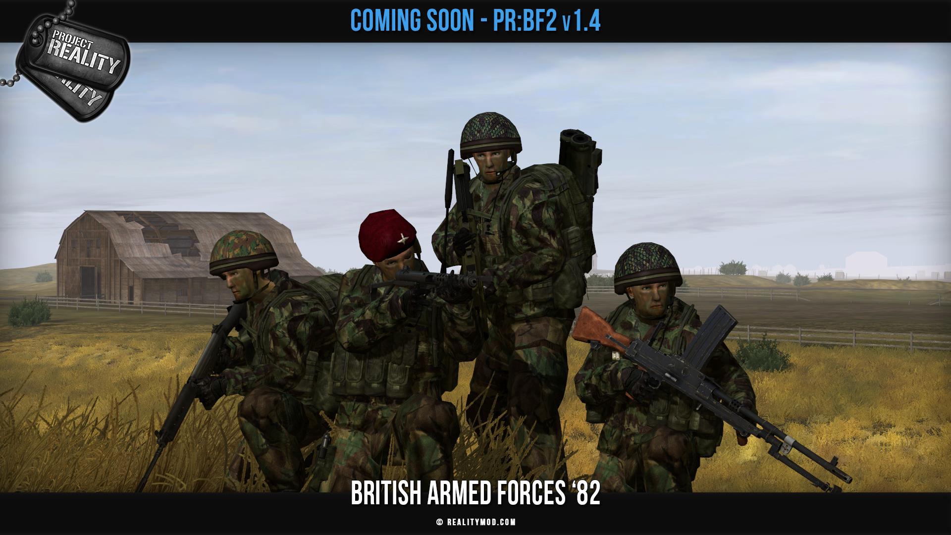 Battlefield 2 Mod Project Reality Adds The Falklands War