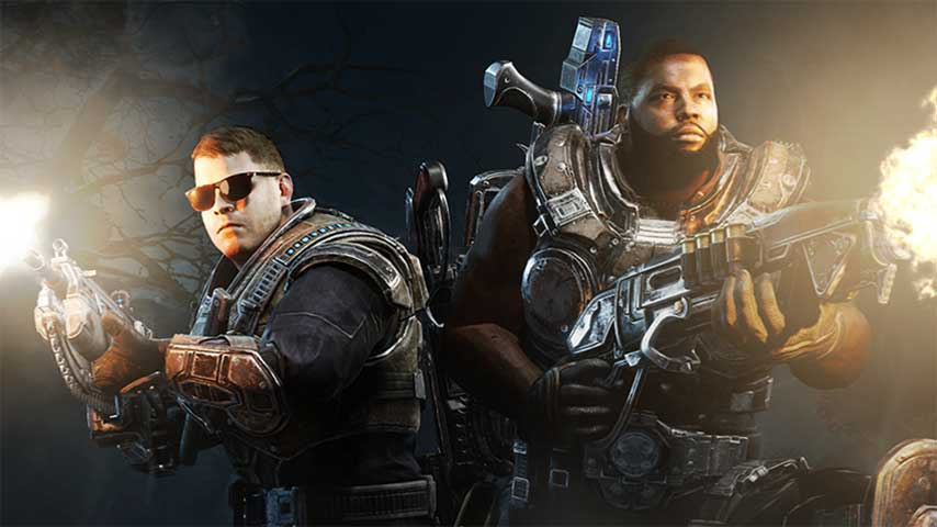 Gears Of War 4 Run The Jewels Air Drop DLC Makes EL P And