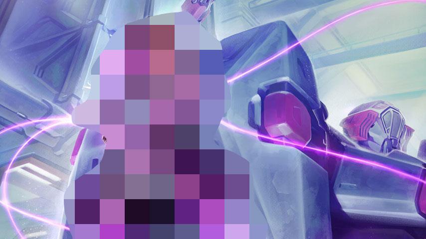 Official Overwatch Art Correlates Earlier Sombra Leaks