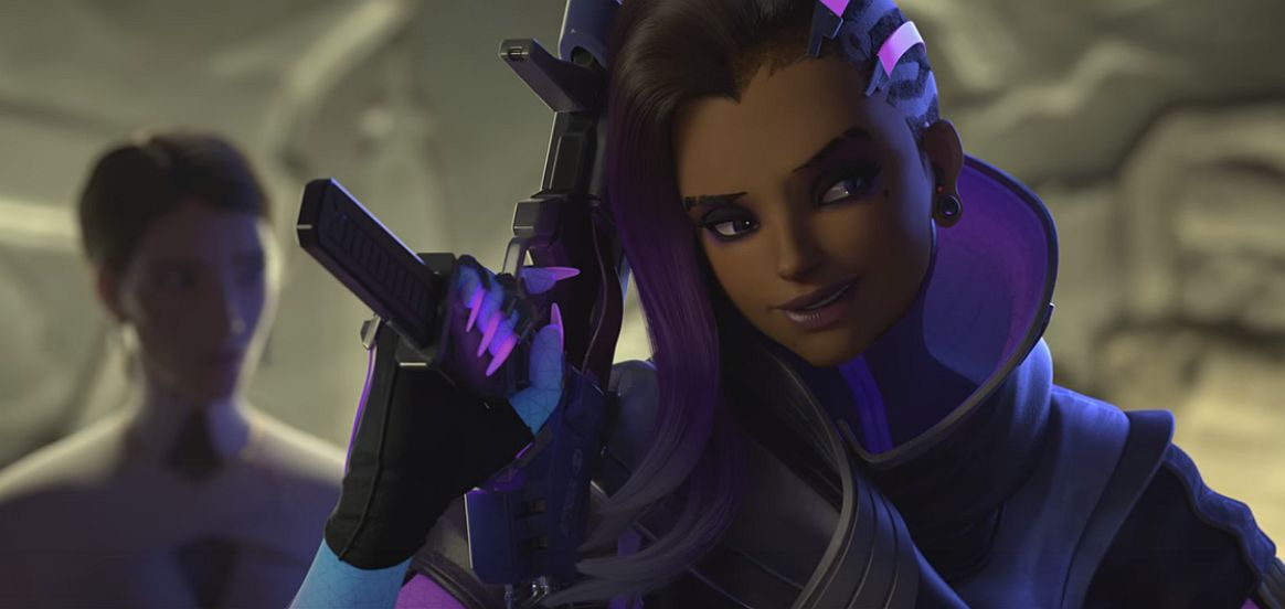 Overwatch Heres An In Game Look At Sombra In Action And More Information On Her Abilities VG247