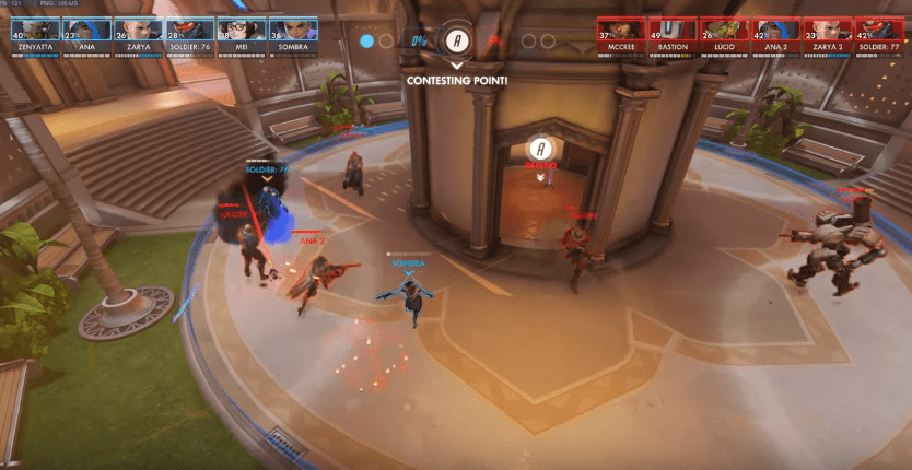 Overwatch Spectator Mode Now Shows Character Health Bars VG247