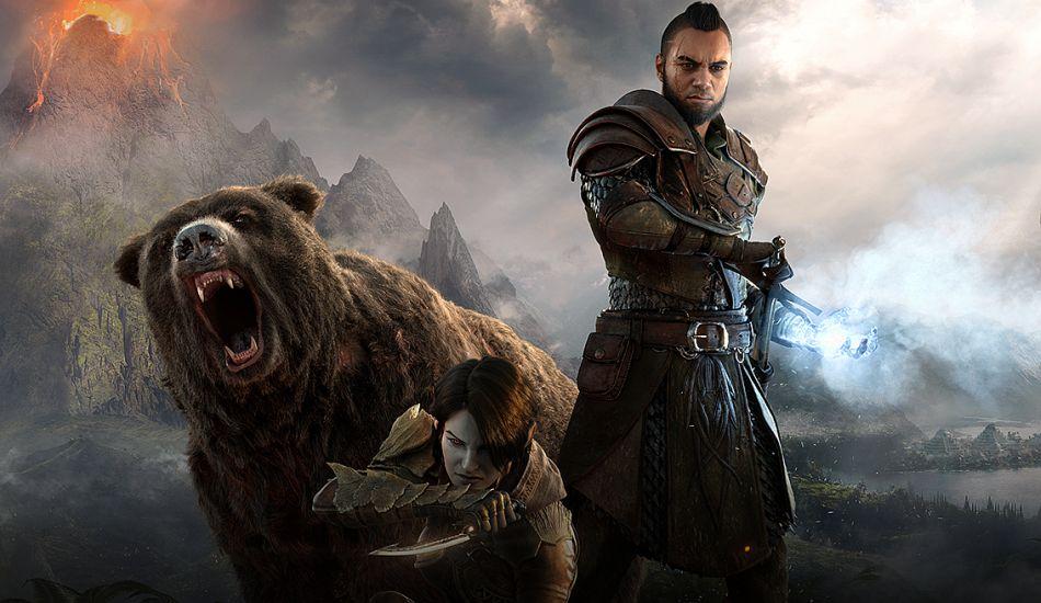 This Elder Scrolls Online Gameplay Video Shows The Warden