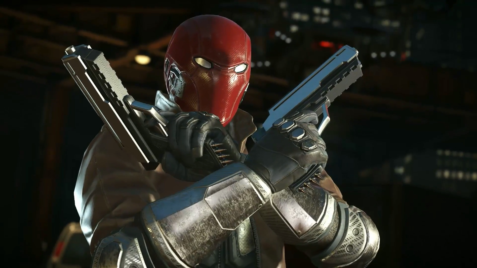 Watch The Arkham Knight Esque Look For Red Hood In
