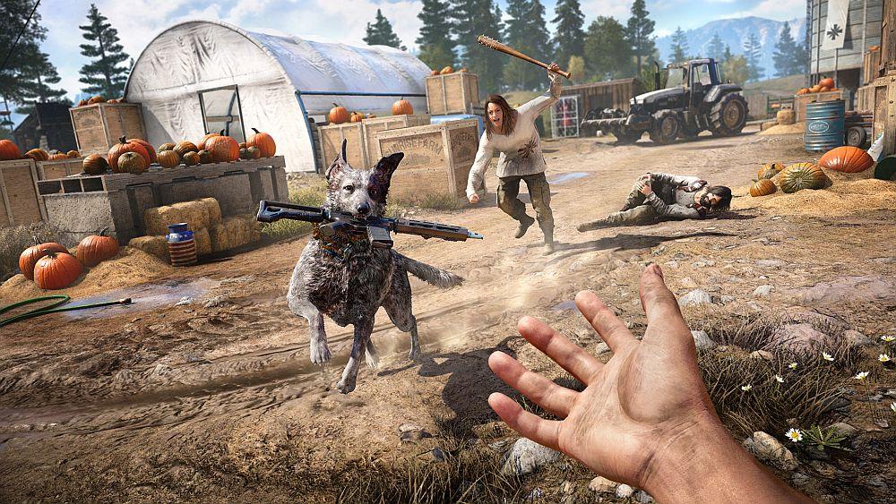 New Far Cry 5 Gameplay Shows Fishing Shooting Ramming