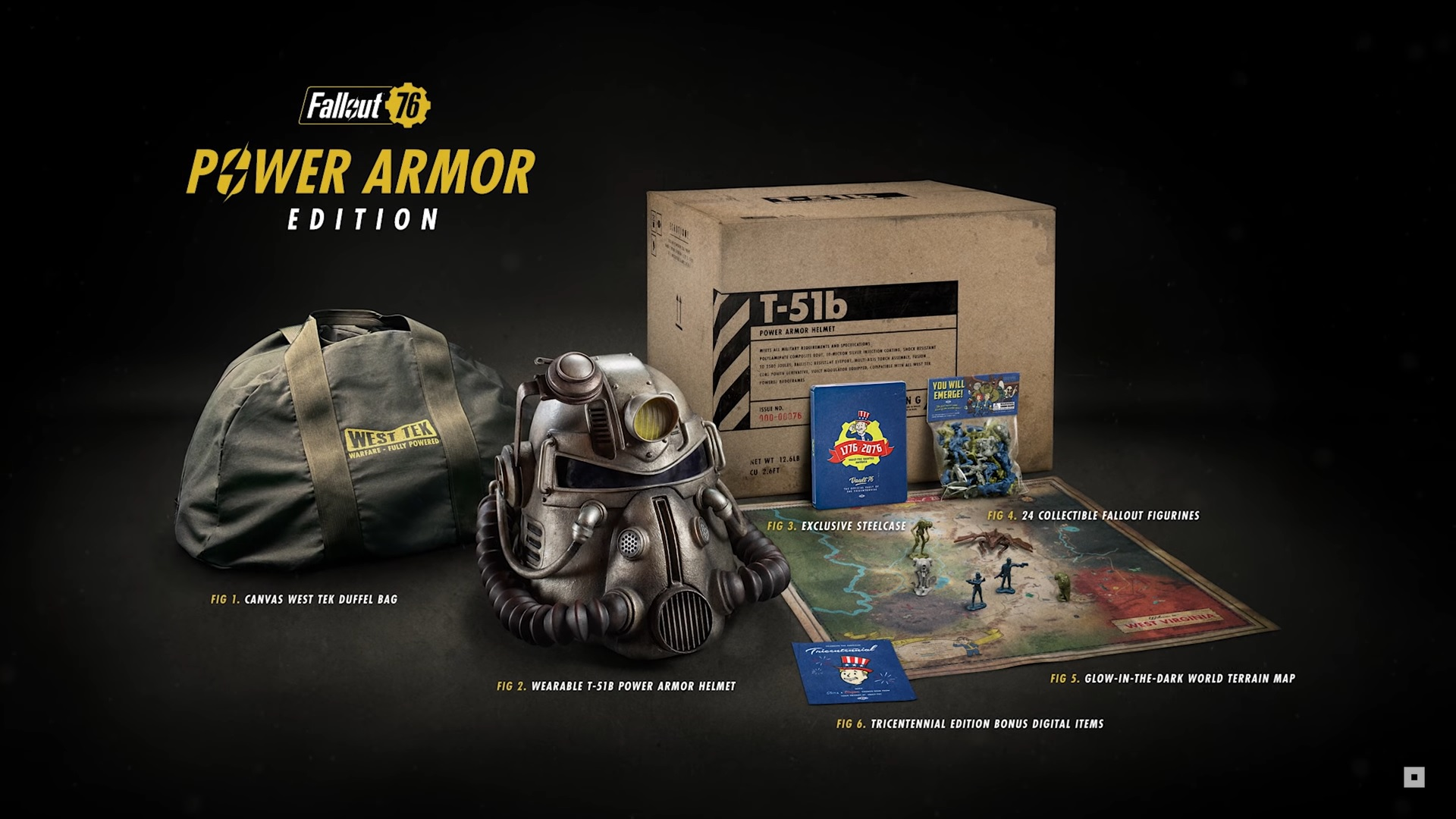 Fallout 76s Collectors Edition Includes A Wearable Helmet