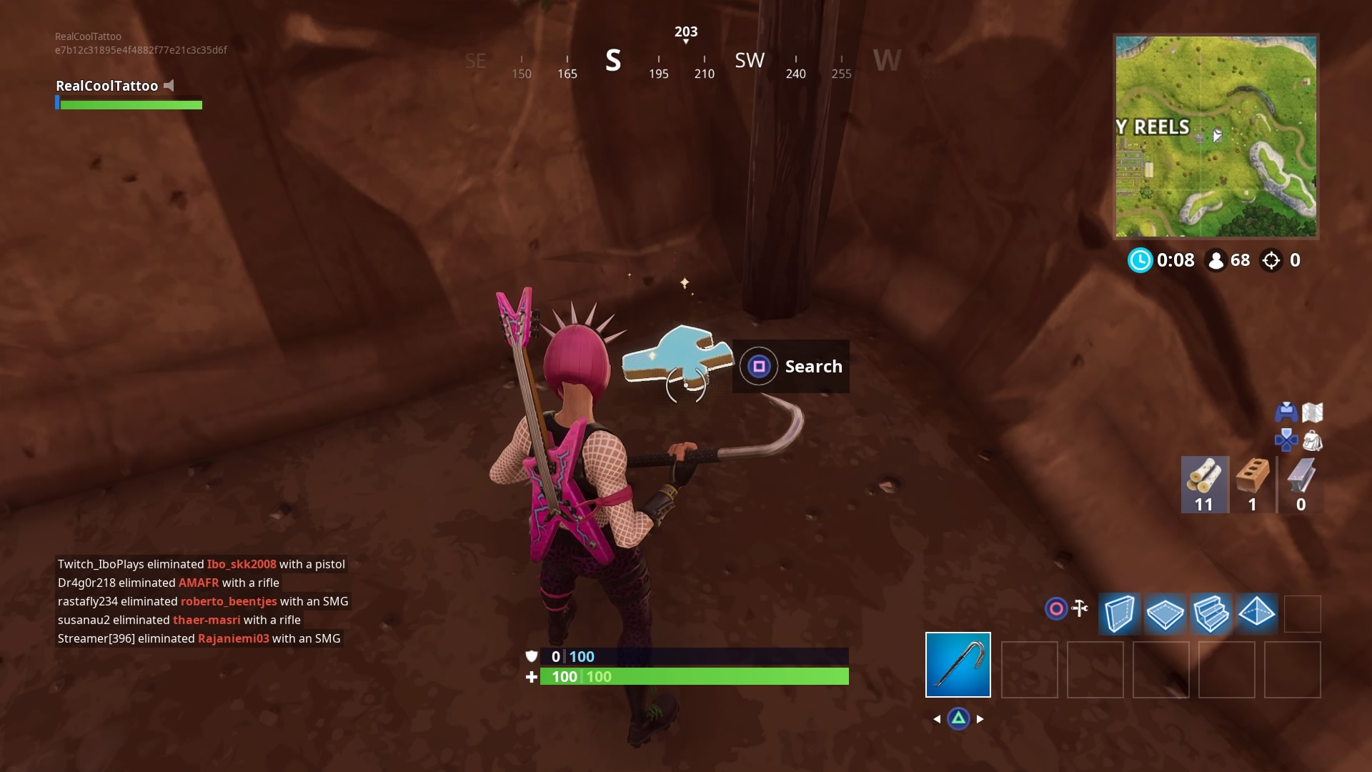 Fortnite Search Jigsaw Puzzle Pieces In Basements