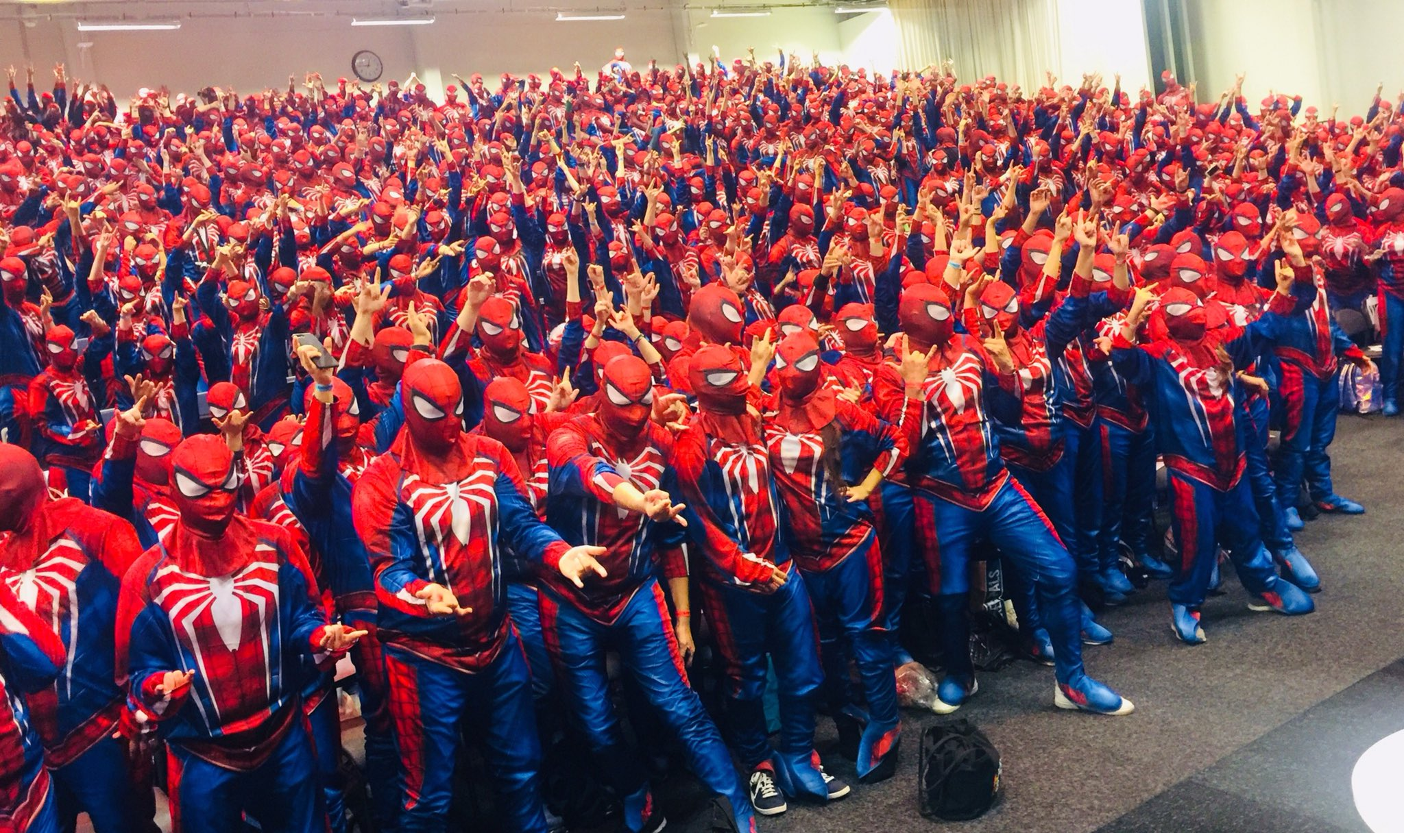Marvel And Sony Break World Record For Largest Gathering Of Costumed Spider Men VG247