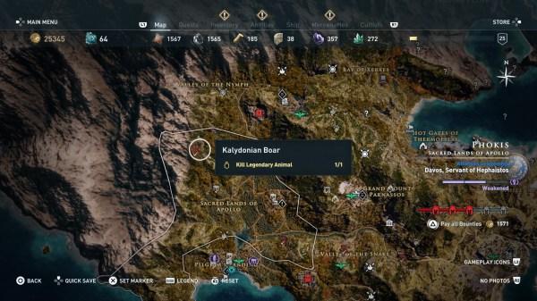 Assassin's Creed Odyssey: How to kill Kalydonian Boar ...