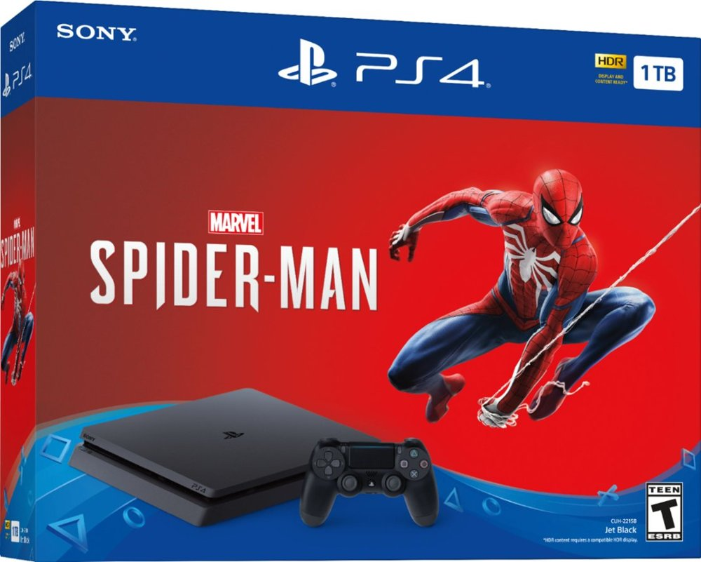 Black Friday Starts Early With This PS4 And Spider Man