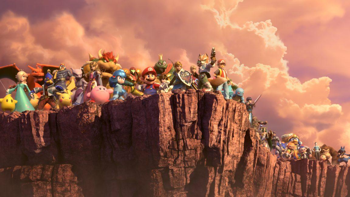 Super Smash Bros Ultimate Ken Incineroar Piranha Plant