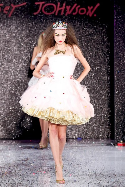 Betsey Johnson Spring 2013 Ready to Wear Collection   Vogue