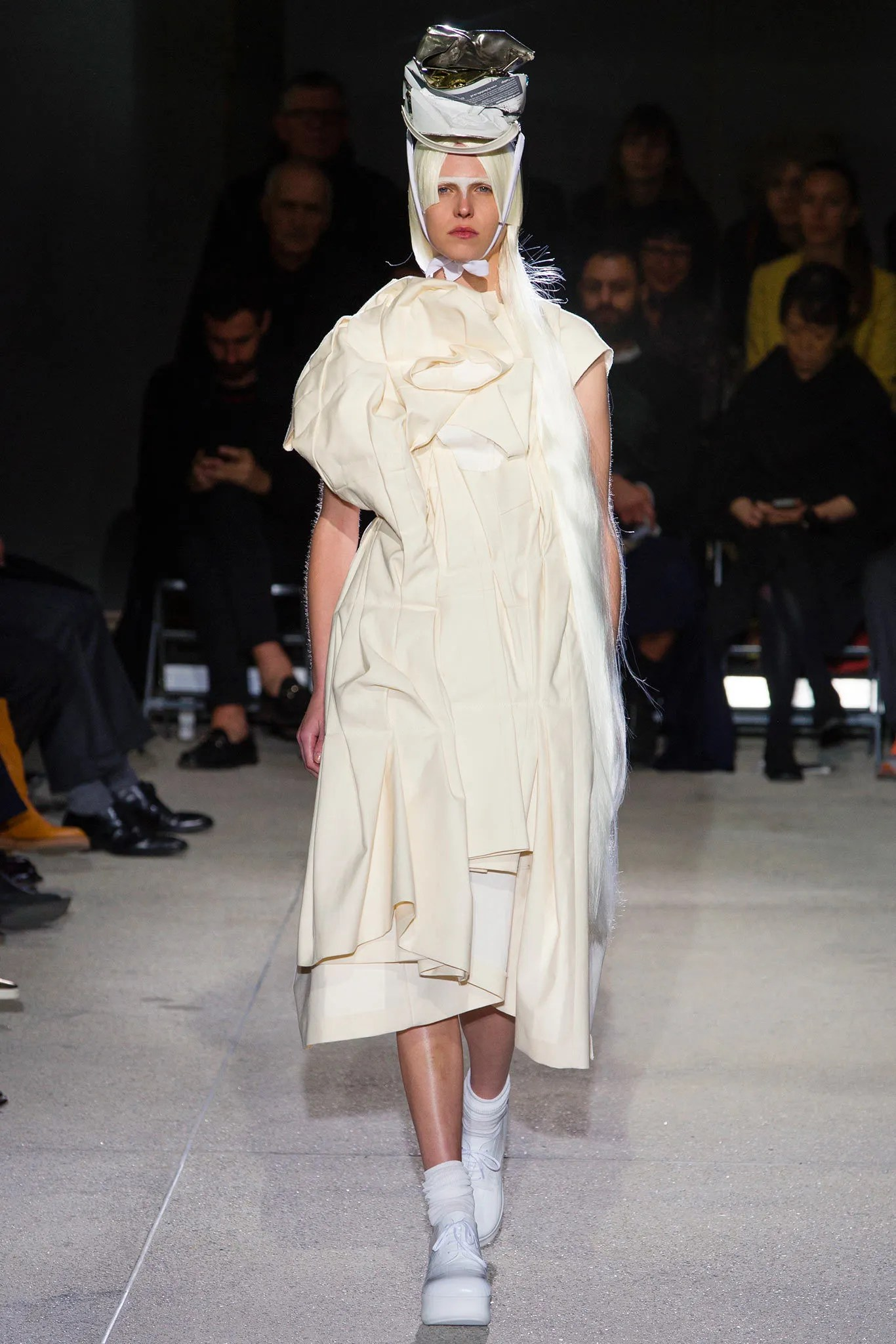 Comme des Garçons Spring 2013, clothing made from what looks like multiple toile pieces