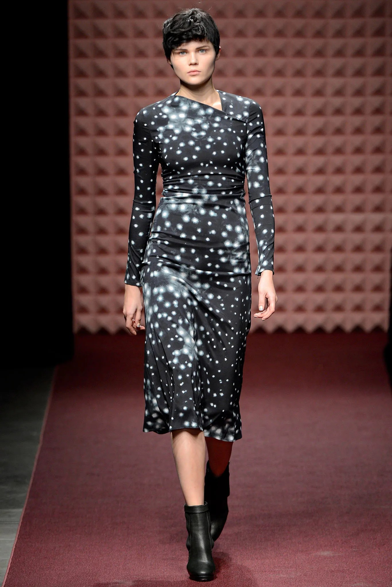 Rachel Comey's star-print Surveillance dress, Fall 2013