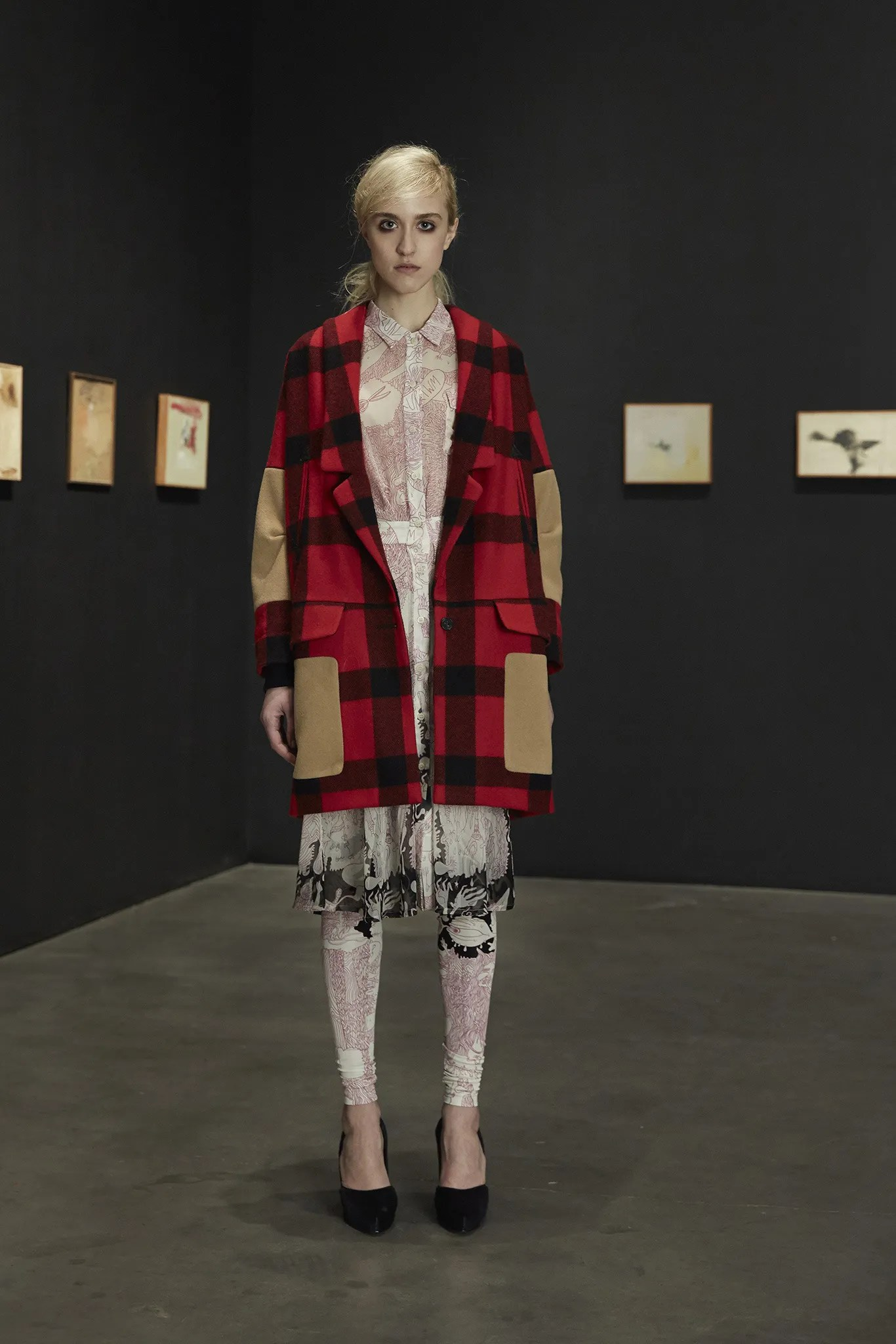 Rachel Comey's Karloff coat, Fall 2014 collection