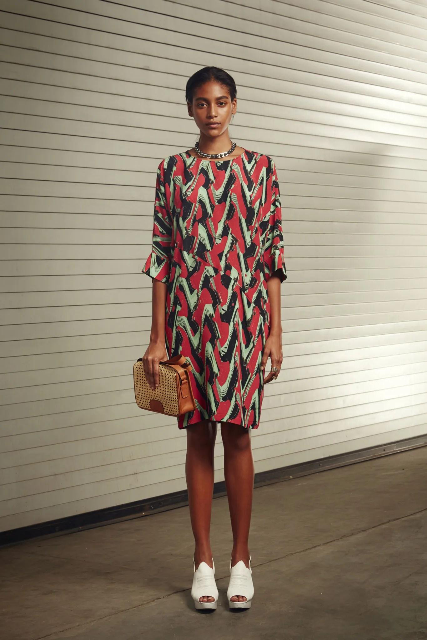 Rachel Comey's Wades dress, Spring 2015