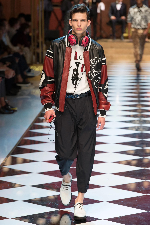 Dolce & Gabbana Spring/Summer 2017 Menswear