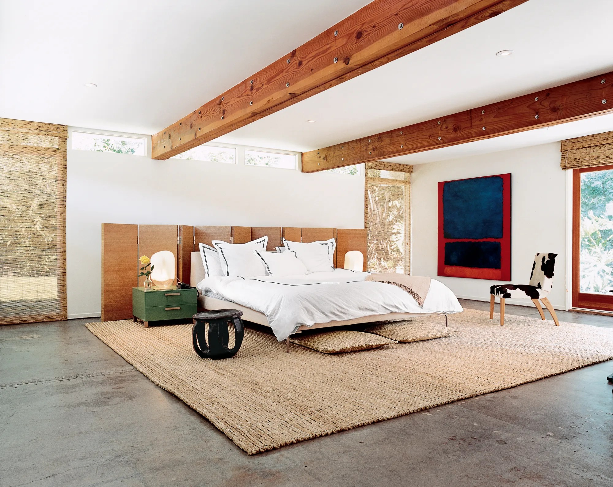 The Most Beautiful Bedrooms in Vogue   Vogue on Beautiful Room  id=51645