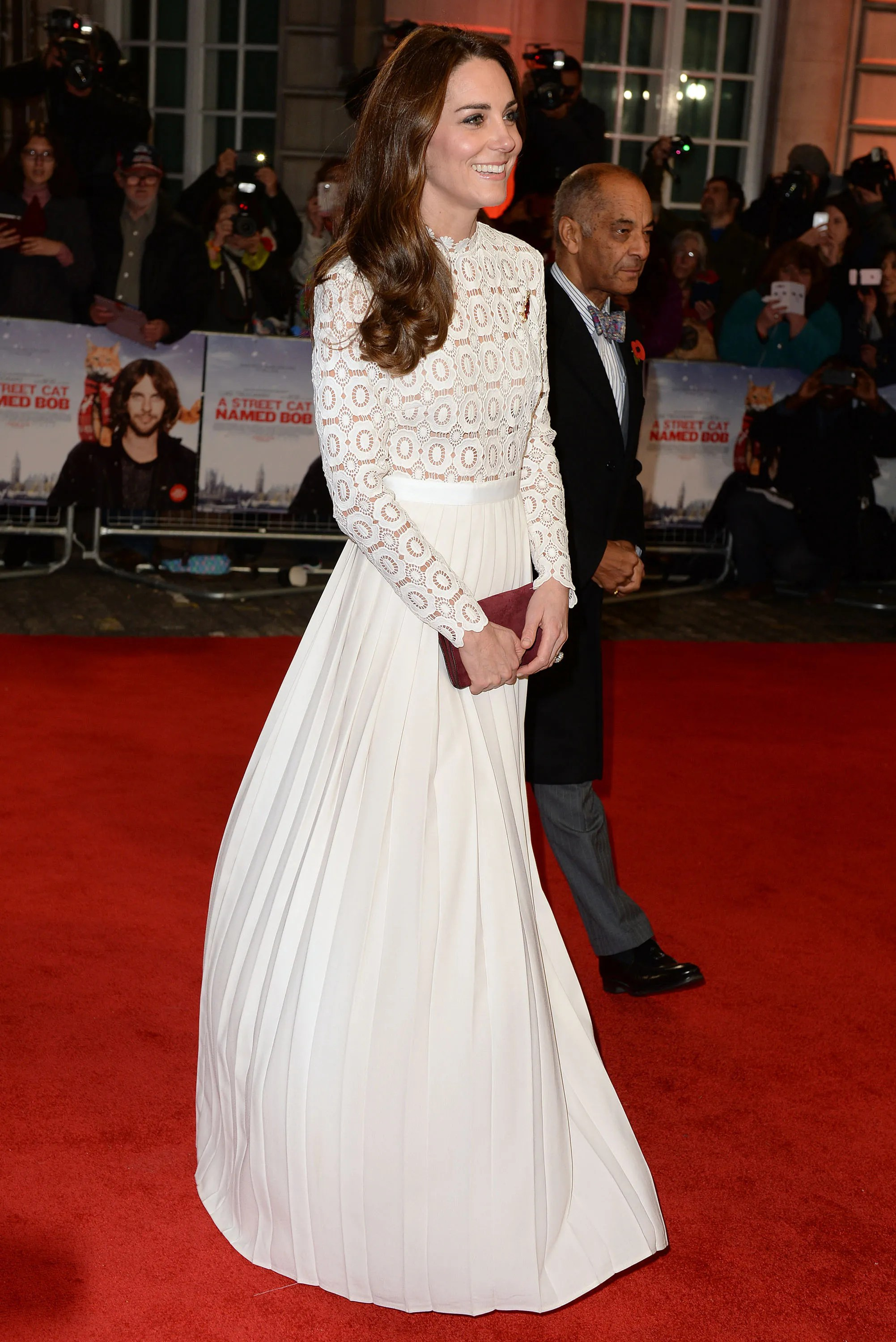 Kate Middleton Lace Dress Runway