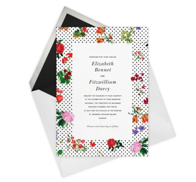 The Best Non Traditional Wedding Invitations Vogue