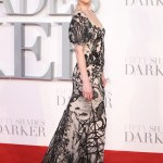 Dakota Johnson Goes Full On Dark Romance In Alexander Mcqueen Vogue