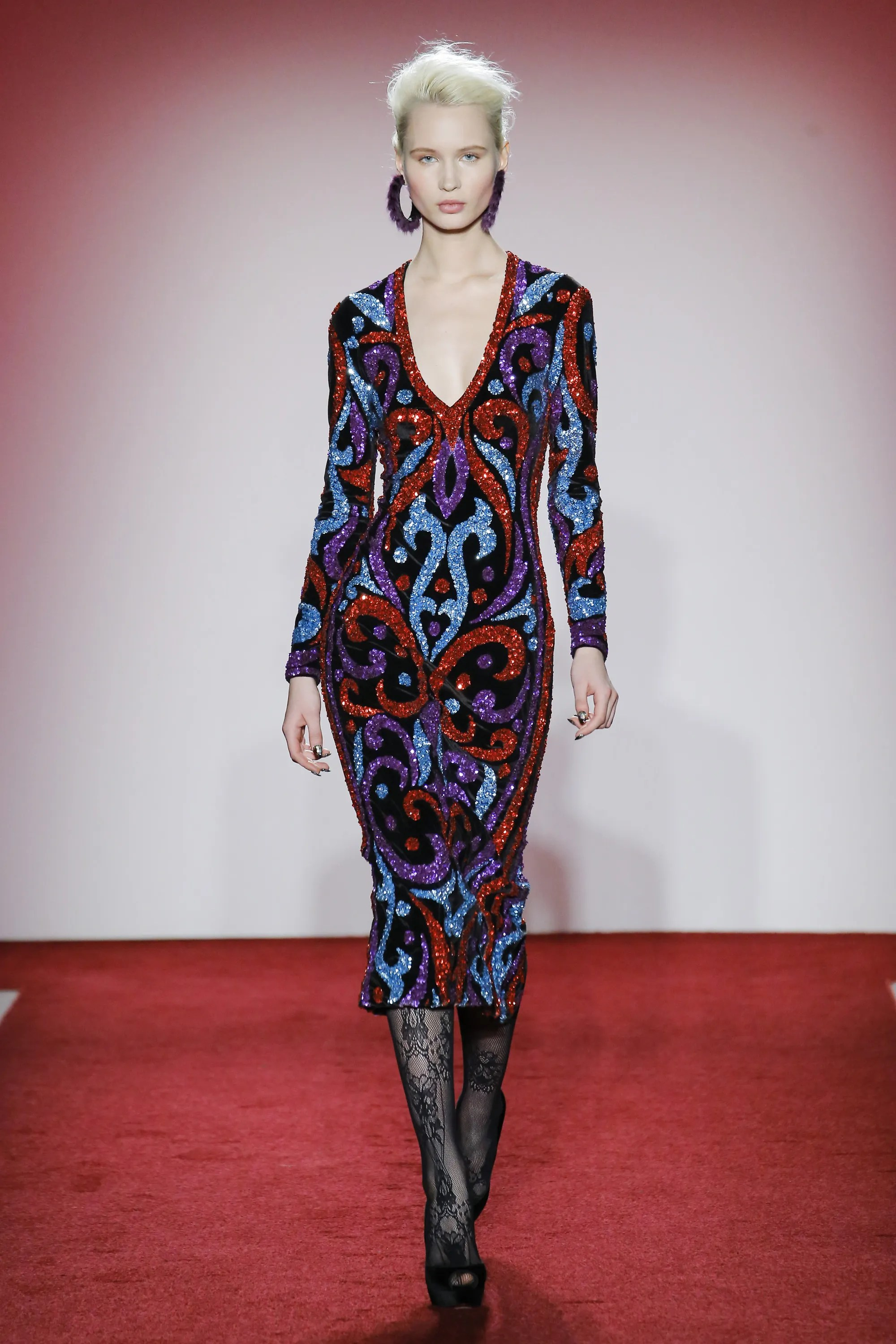 Naeem Khan Collection Fall/Winter 2017 FW17 AH17