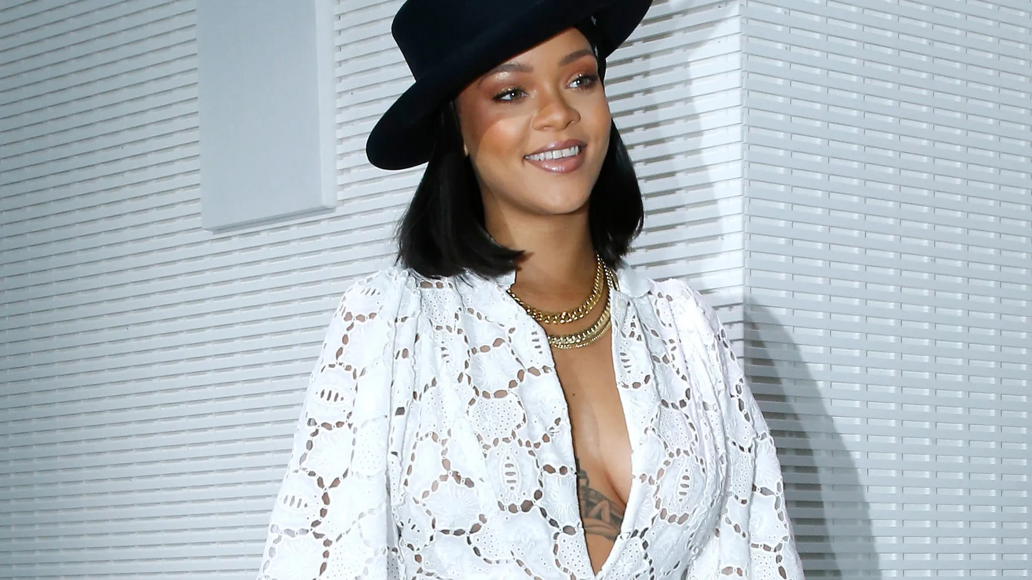 Rihanna Stuns At The Lvmh Prize Ceremony In Christian Dior