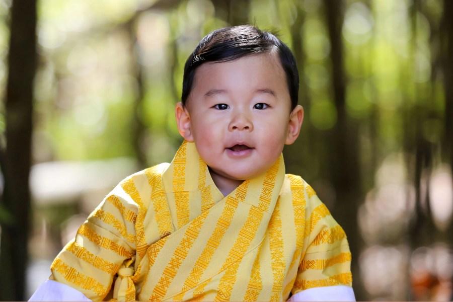 Dragon Prince Jigme Namgyel Wangchuck
