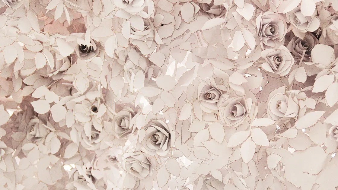 Meet The Artists Behind The 40000 Paper Flowers In Diors