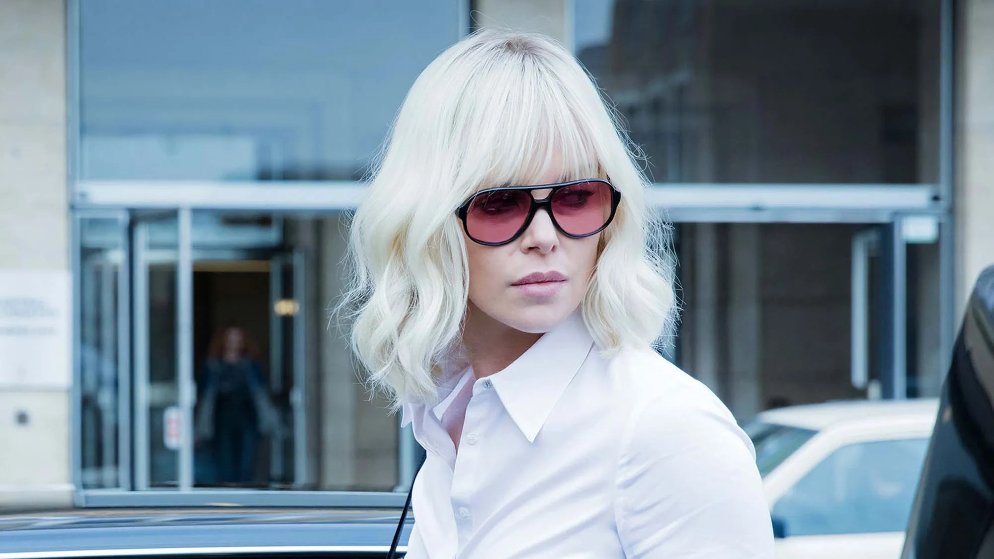 Charlize Theron On Fighting Men Twice Her Size In A Blonde