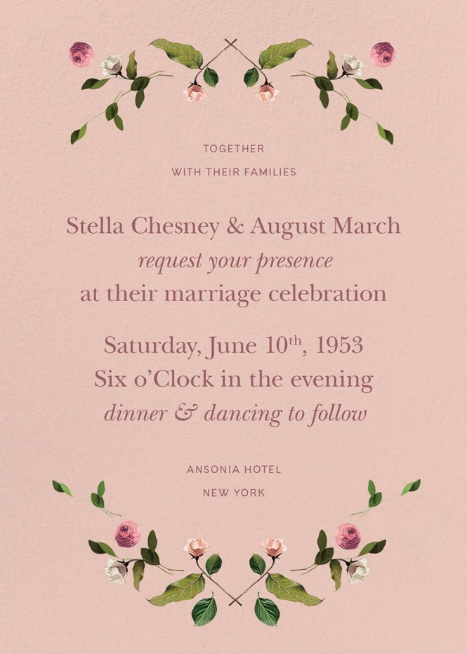 11 Online Wedding Invitations That Make The Case For Going