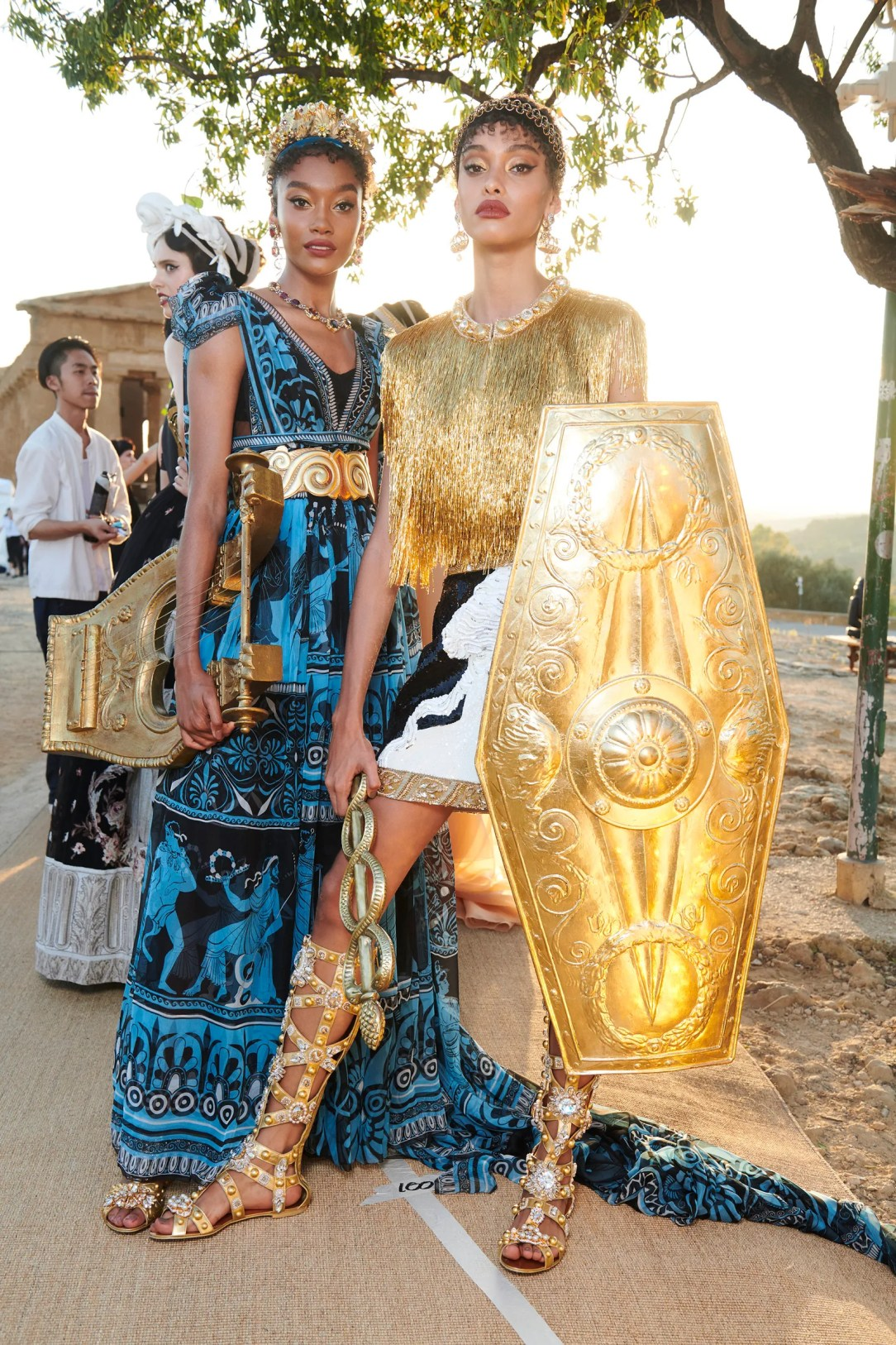 Dolce  Gabbana Stage an Epic Alta Moda Show in Sicilys Valley of the Temples