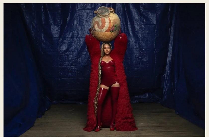 Beyoncé in custom Alon Livné, Black is King