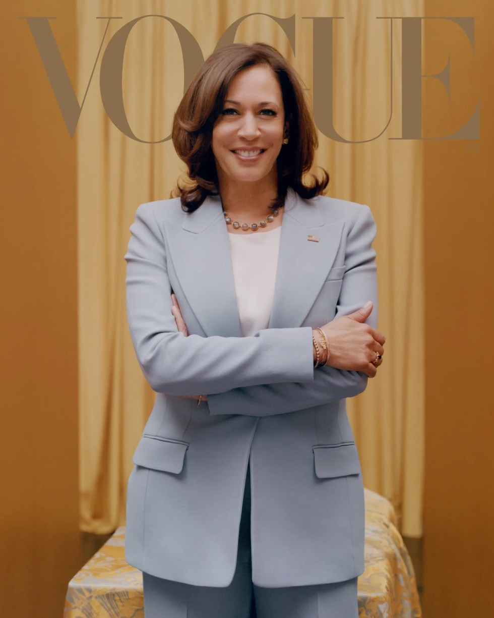 Vice President-Elect Kamala Harris on the Road Ahead | Vogue