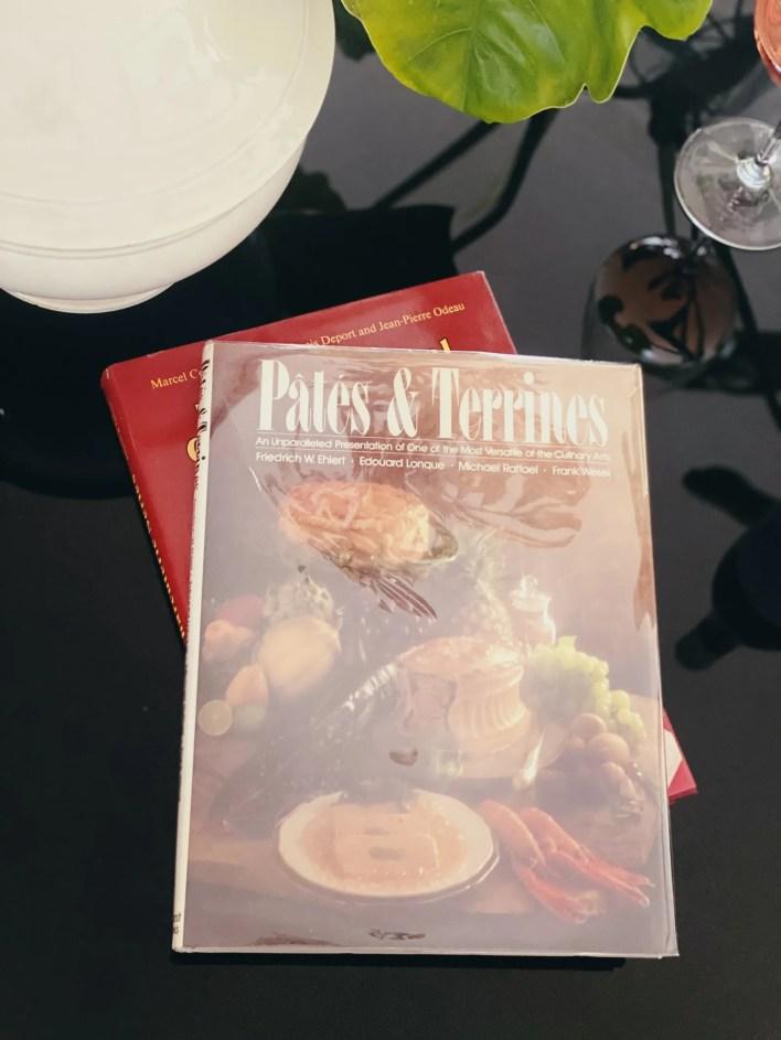 Classic cookbooks.