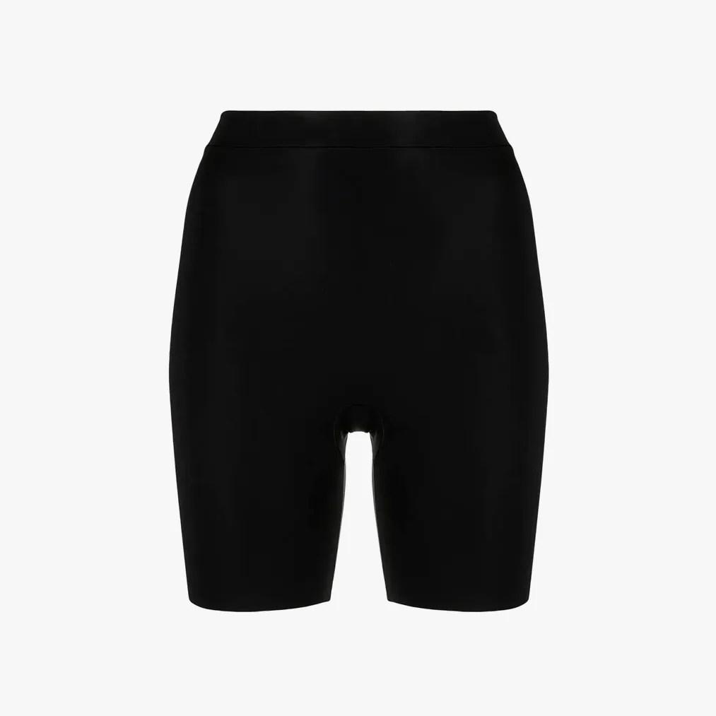 Image may contain: Clothing, Shorts, Apparel, and Spandex