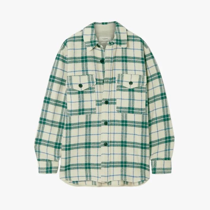 Image may contain: Clothing, Apparel, Sleeve, Long Sleeve, Shirt, Coat, and Jacket