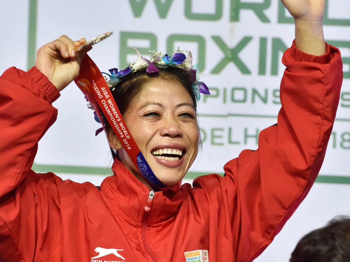MC Mary Kom on what it takes for an Indian woman to make it in sports |  VOGUE India | Vogue India