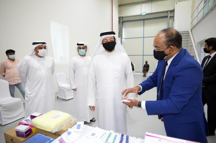 """""""Hamriya Free"""" Attracts investments in""""100"""" One million dirhams for a global American company specializing in medical care"""