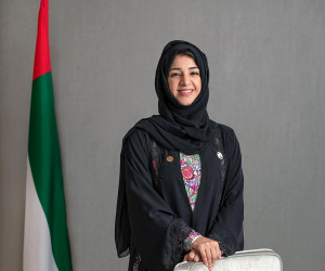 Reem Al Hashemy receives Sunflower Lanyard for her role promoting accessibility at Expo 2020