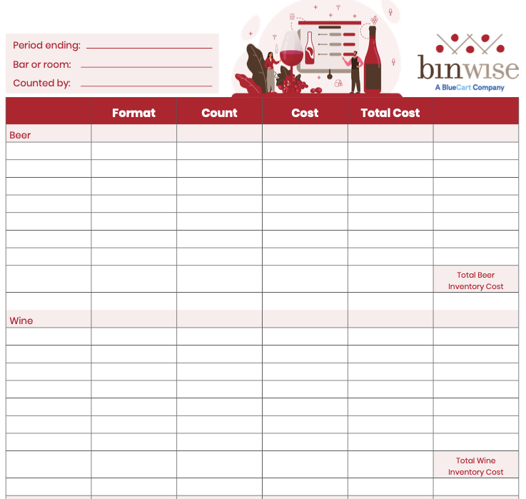 Download a free inventory sheet template in microsoft excel format. Free Bar Inventory Spreadsheet Bar Inventory Template
