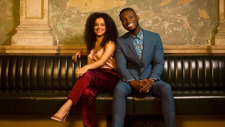 Courtney Stapleton et Emmanuel Kojo interprètent les rôles principaux de la comédie musicale La Belle et La Bête en Angleterre