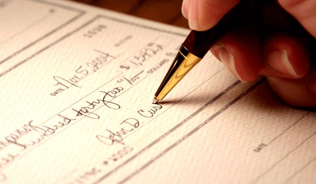 How to Write a Check  Check City Blog