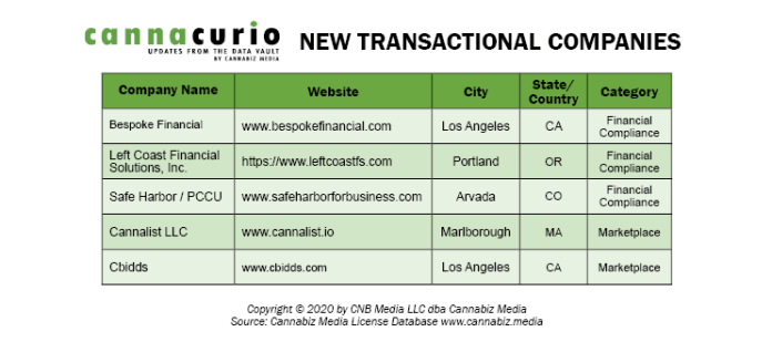 New Transactional Companies