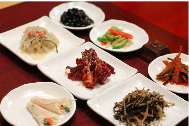 Banchan dishes are often left unfinished, contributing to food waste