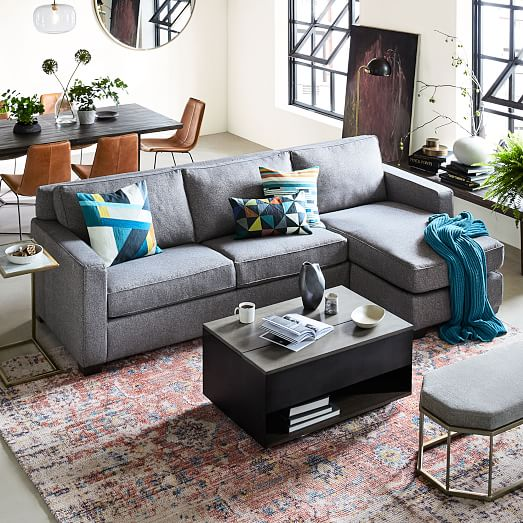henry 2 piece chaise sectional