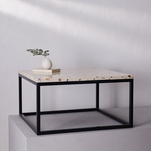 pieces square coffee table frame