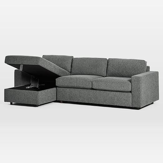 urban sleeper sectional w storage